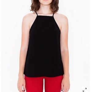 American Apparel High Neck Tank